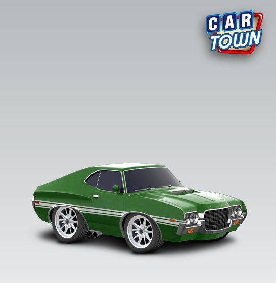 Fast and Furious® Ford Fenix's Gran Torino - 1972 - Serty Car Town